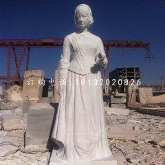 大理石南丁格爾石雕,醫院名人石雕