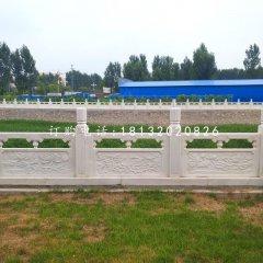 汉白玉栏板,公园栏板石雕