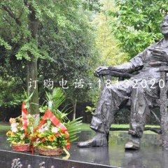 坐着的邓小平铜雕,伟人铜雕