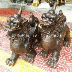 獨角獸銅雕,法院神獸銅雕