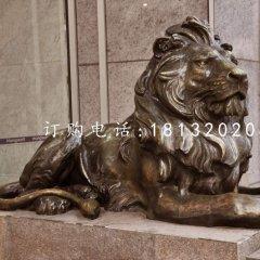 匯豐獅銅雕,歐式銅獅子
