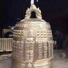 鑄銅鐘雕塑,寺廟銅雕鐘