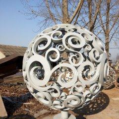 景觀鏤空球雕塑不銹鋼廣場雕塑