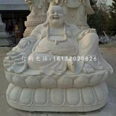 汉白玉石雕弥勒佛寺庙佛像雕塑