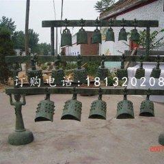 銅雕編鐘仿古銅鐘雕塑