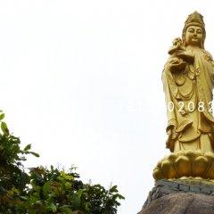 送子觀音銅雕寺廟銅佛像雕塑
