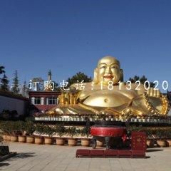鑄銅彌勒佛雕塑寺廟佛像銅雕