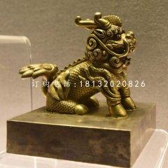 麒麟銅雕,鑄銅神獸雕塑