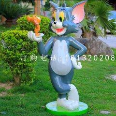 湯姆貓雕塑,卡通雕塑