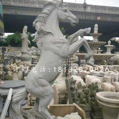 青石立馬雕塑,廣場石雕馬