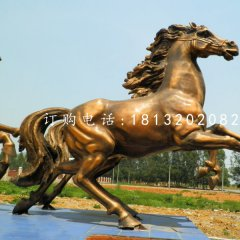 銅馬雕塑,廣場飛馬銅雕