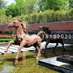 銅馬雕塑,鍛銅動物雕塑
