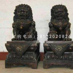 小型銅獅子,北京獅銅雕