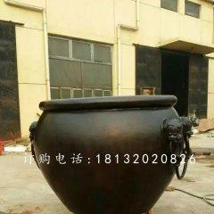 仿古铜水缸,圆形水缸