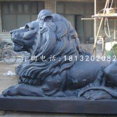 銅雕獅子,西洋獅銅雕