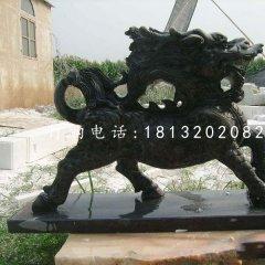 石雕麒麟,廣場神獸石雕