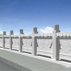 花纹石浮雕栏板,石桥栏板