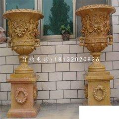 欧式花盆雕塑,景观石雕
