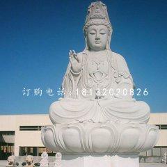 大型觀音坐像,大理石佛像