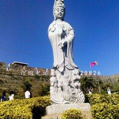 大理石觀音菩薩寺廟石雕佛像