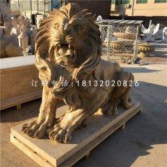 西洋獅子石雕 看門獅子石雕