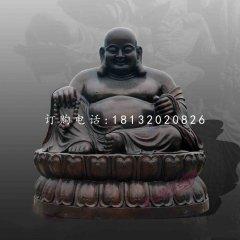 彌勒佛銅雕寺廟佛像雕塑