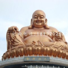 銅雕彌勒佛大型佛像雕塑