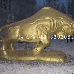 銅雕開荒牛,廣場銅牛雕塑