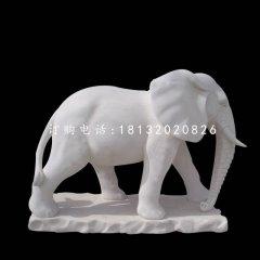 漢白玉大象,廣場動物石雕