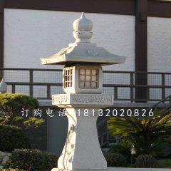 宫灯石雕,公园大理石灯雕塑