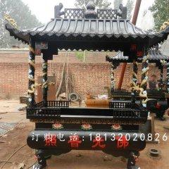 方形鐵香爐雕塑,寺廟鐵香爐雕塑