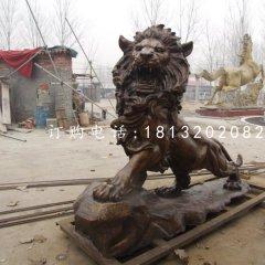 西洋獅銅雕,銅雕獅子