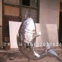 鲤鱼雕塑,不锈钢鲤鱼雕塑