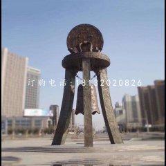 銅雕鐘廣場景觀銅雕