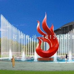不锈钢抽象凤凰雕塑,广场不锈钢雕塑