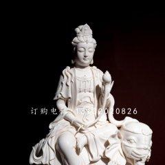 普賢菩薩石雕 漢白玉佛像