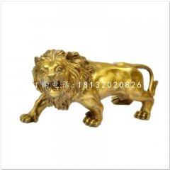 吼狮铜雕 西洋铜狮雕塑