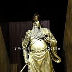 關二爺銅雕 武財神銅雕
