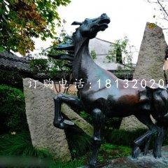青铜马雕塑 骏马雕塑