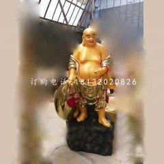 彌勒佛銅雕 布袋和尚雕塑