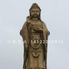 立式觀音菩薩銅雕 大型銅佛像