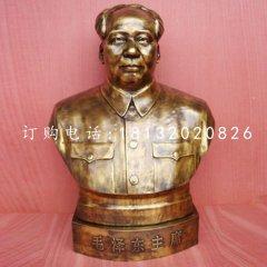 毛泽东主席铜雕 伟人胸像雕塑