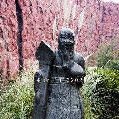 老寿星铜雕 神仙雕塑