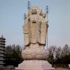 地藏菩薩石雕,廣場大理石佛像