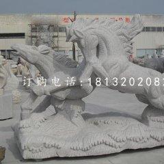 大理石馬雕塑 奔馬石雕
