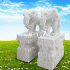 大理石大象,石雕動物