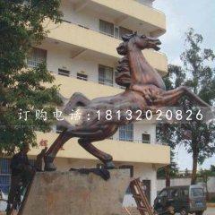 奔马铜雕 校园景观铜雕