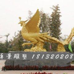 凤凰铜雕,神兽铜雕