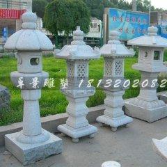 宫灯石雕公园大理石灯雕塑