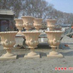 欧式砂岩花盆石雕